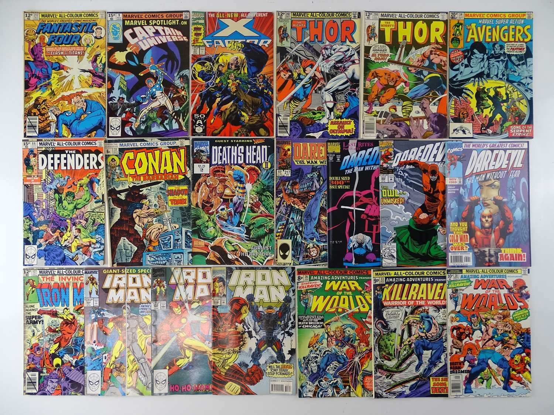 MARVEL COMICS LOT - (20 in Lot) - (MARVEL) - Includes FANTASTIC FOUR #212 (1979) + MARVEL SPOTLIGHT: