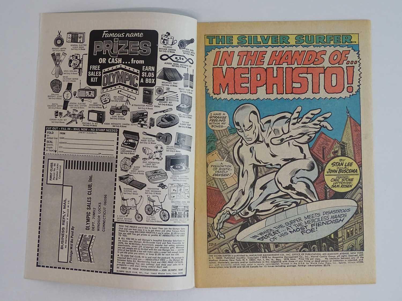 SILVER SURFER #16 - (1970 - MARVEL) - Mephisto, Nick Fury, Dum-Dum Dugan appearances - John - Image 3 of 9