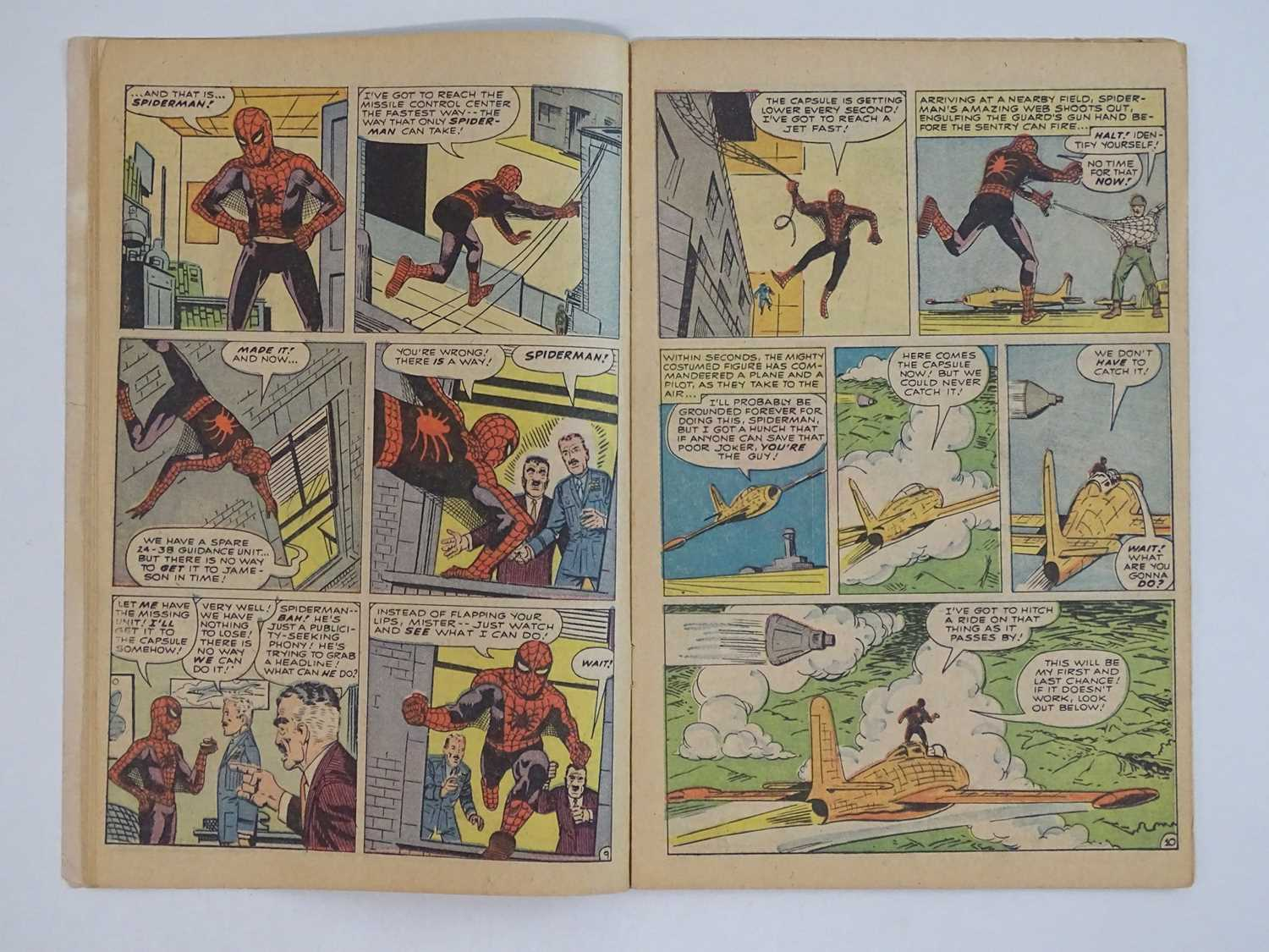 AMAZING SPIDER-MAN #1 - (1963 - MARVEL - UK Price Variant) - First appearance of Spider-Man un his - Image 14 of 27