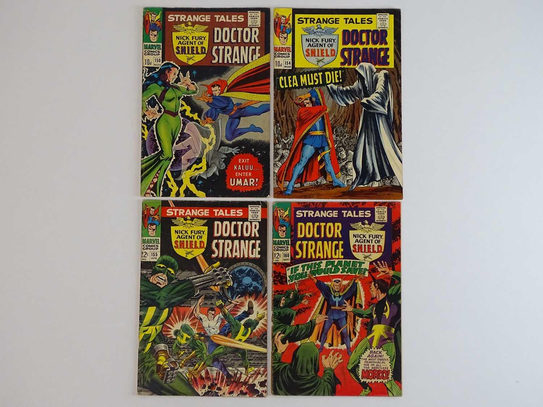STRANGE TALES: DR. STRANGE & NICK FURY, AGENT OF SHIELD #150, 154, 155, 160 - (4 in Lot) - (1966/