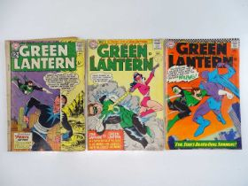 GREEN LANTERN #15, 41, 44 - (3 in Lot) - (1962/66 - DC - UK Cover Price) - Includes Star Sapphire,