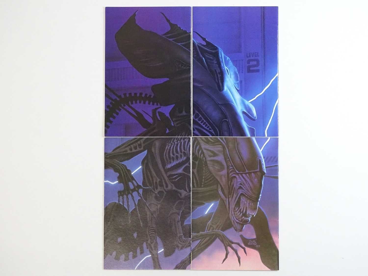 ALIENS #1, 2, 3, 4 - (4 in Lot) - (1989/90 - DARK HORSE) - ALL First Printings - Complete 4 x - Image 2 of 2