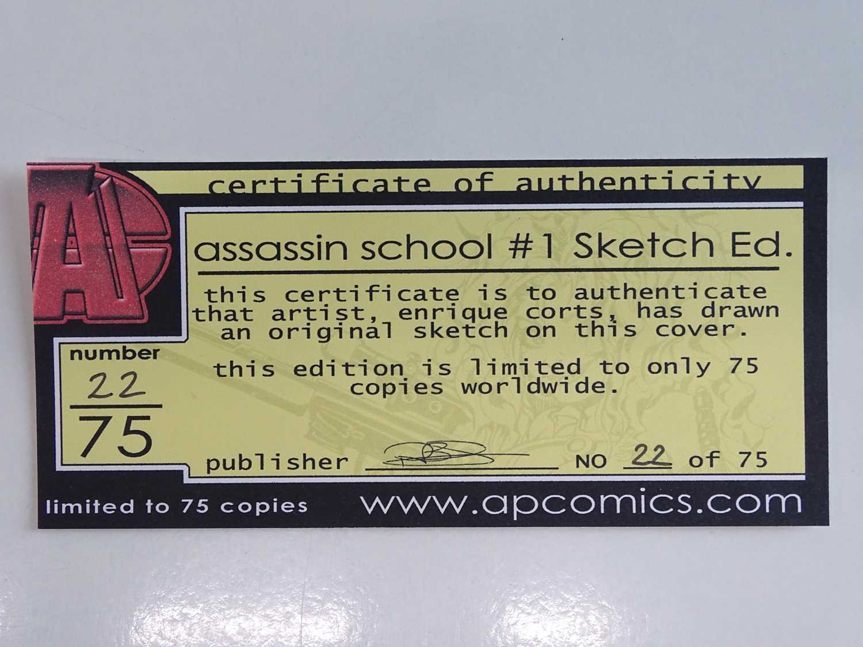ASSASSINS SCHOOL, ISSUE ZERO, CODENAME: BABETOOL, CLASS WAR, PUNCTURE LOT - (17 in Lot) - (2000/02 - - Image 4 of 6