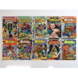 WEREWOLF BY NIGHT + TOMB OF DRACULA + FRANKENSTEIN MONSTER LOT - (10 in Lot) - (MARVEL - US