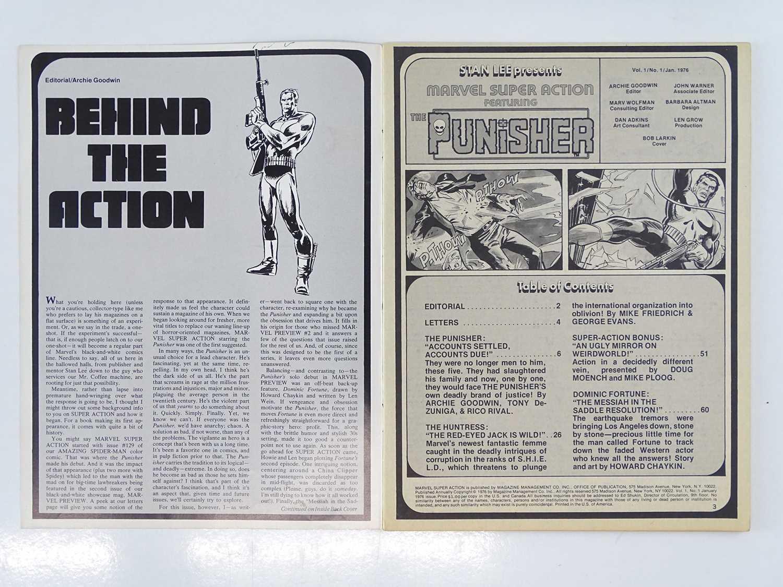 MARVEL SUPER ACTION: PUNISHER #1 - (1976 - MARVEL - UK Cover Price) - Early Punisher appearance + - Image 3 of 9