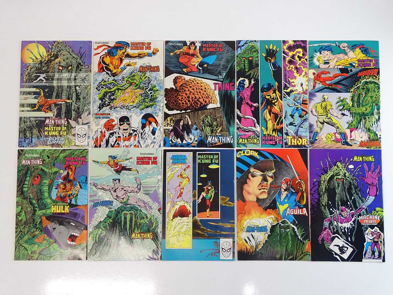 MARVEL COMICS PRESENTS: WOLVERINE - (10 in Lot) - (1988/89 - MARVEL) - Complete 10 issue Wolverine - Image 2 of 2
