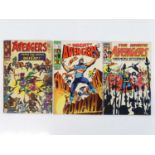 AVENGERS #24, 63 & 249 - (3 in Lot) - (1966/84 - MARVEL - UK Price Variant) - Includes Kang the