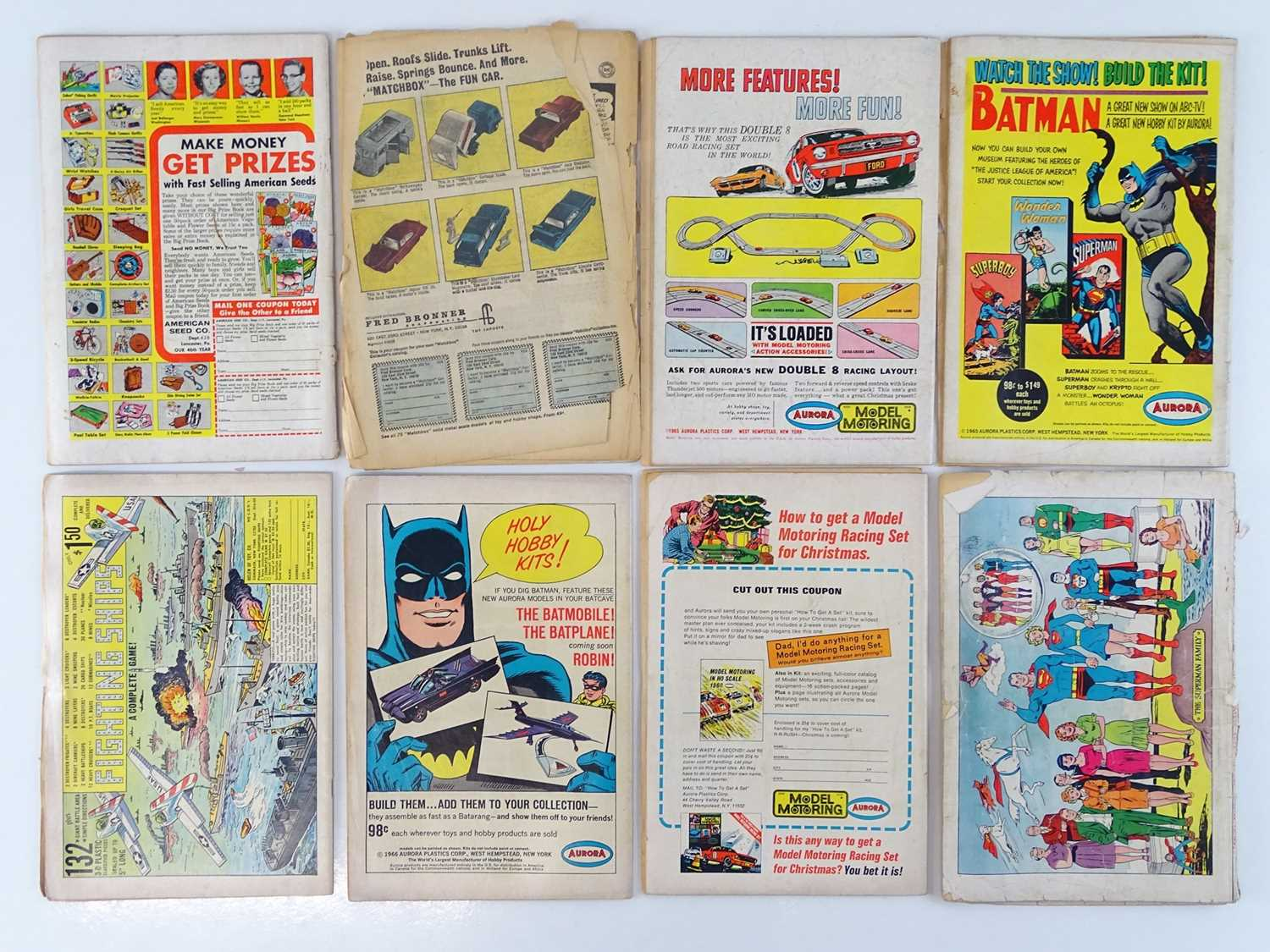 SUPERMAN #169, 183, 184, 186, 188, 190, 192 & GIANT ANNUAL #6 - (8 in Lot) - (1962/67 - DC - UK - Image 2 of 2
