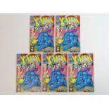 X-MEN #1 - (5 in Lot) - (1991 - MARVEL) - Beast, Storm Archangel, Professor X cover - Jim Lee
