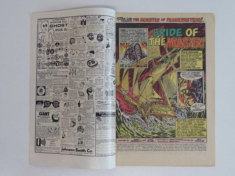 MONSTER OF FRANKENSTEIN #2 - (1973 - MARVEL) First appearance 'Bride of Frankenstein' - Mike Ploog - Image 3 of 9