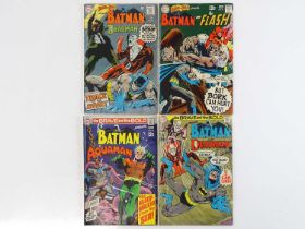 BRAVE & BOLD: BATMAN & DEADMAN, FLASH & AQUAMAN #79, 81, 82, 86 - (4 in Lot) - (1969/70 - DC - UK