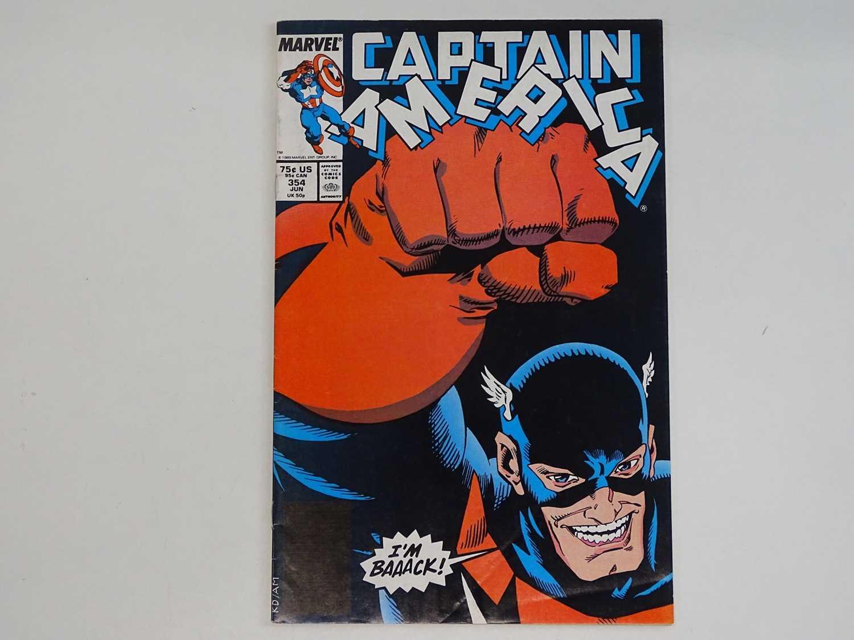 CAPTAIN AMERICA #354 - (1989 - MARVEL) - HOT KEY Modern Book - First appearance of John Walker as US