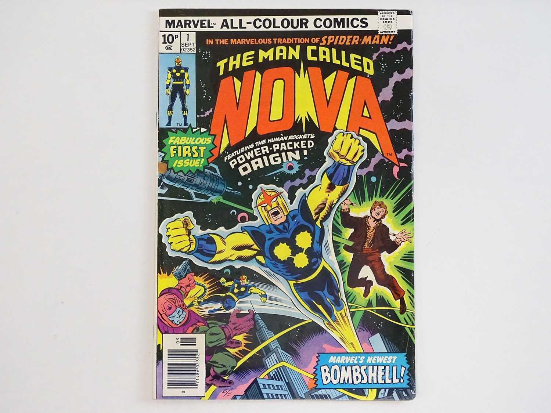 NOVA #1 - (1976 - MARVEL - UK Price Variant) - First appearance and Origin of Nova (Richard Rider) +