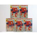 """SPIDER-MAN #1 - (5 in Lot) - (1990 - MARVEL) Includes Five (5) #1 (Regular) Issues of the """""""