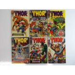THOR #135, 137, 142, 145, 146, 159 - (6 in Lot) - (1966/68 - MARVEL - UK Price Variant) - Includes