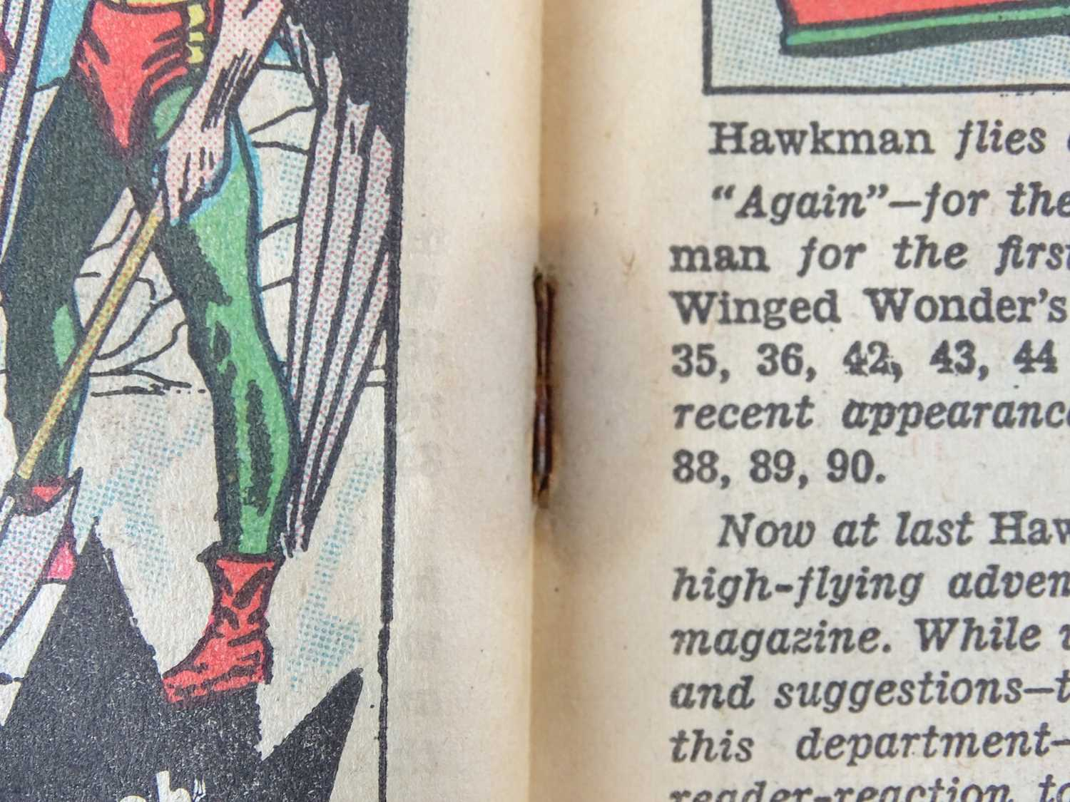 """HAWKMAN #1 - (DC - UK Cover Price) - First solo title for Hawkman gets after appearances in """"Brave - Image 6 of 9"""