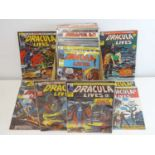 DRACULA LIVES #1 to 87 - (87 in Lot) - (1974/76 - BRITISH MARVEL) - Complete 87 issue run from #1 (