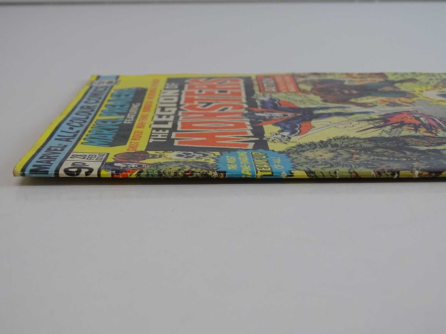 MARVEL PREMIERE #28 - (1976 - MARVEL - UK Price Variant) - Featuring the Legion of Monsters (Ghost - Image 8 of 9