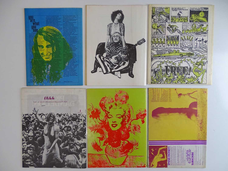 OZ MAGAZINE #17, 19, 23, 24, 26, 27 - (6 in Lot) - (1968/70) Selection of 6 x OZ Magazines - - Image 2 of 2