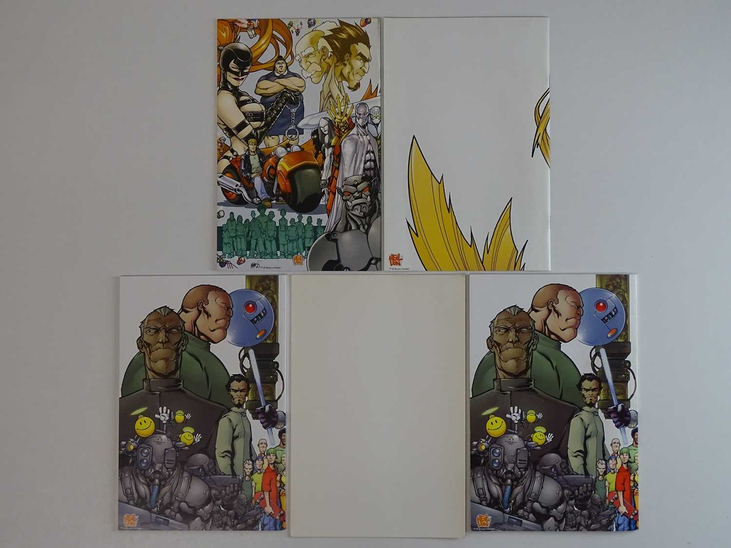 BAZOOKA JULES LOT - (5 in Lot) - (2001 - DC) - First Printings - Includes an original Signed hand- - Image 3 of 3