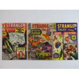 STRANGE TALES: HUMAN TORCH & DR. STRANGE #131, 132, 133 - (3 in Lot) - (1965 - MARVEL - US Price &