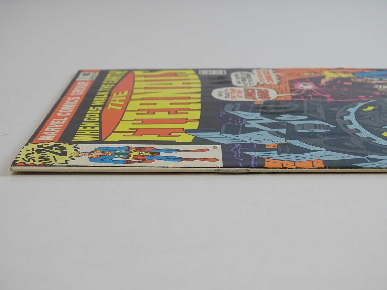ETERNALS #1 - (1976 - MARVEL) - HOT Key book + Origin and First appearances of the Eternals (Ikaris, - Image 8 of 9