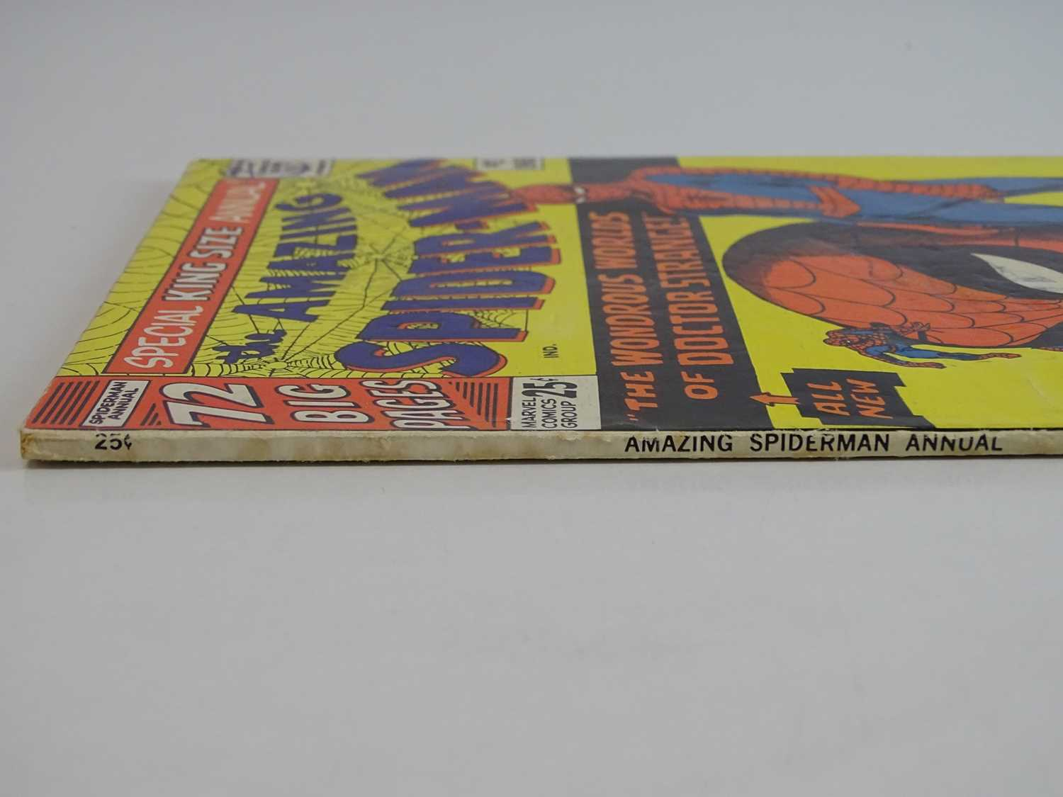 AMAZING SPIDER-MAN: KING SIZE ANNUAL #2 - (1965 - MARVEL - UK Cover Price) - First appearances of - Image 7 of 8