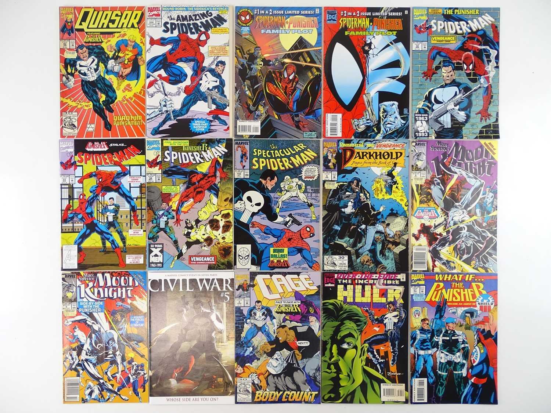 MARVEL COMICS LOT (PUNISHER APPEARANCES) - (15 in Lot) - (MARVEL) - Includes QUASAR #42 (1992) +