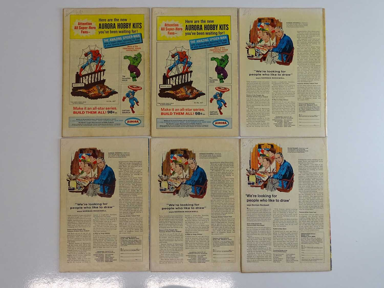 THOR #135, 137, 142, 145, 146, 159 - (6 in Lot) - (1966/68 - MARVEL - UK Price Variant) - Includes - Image 2 of 2