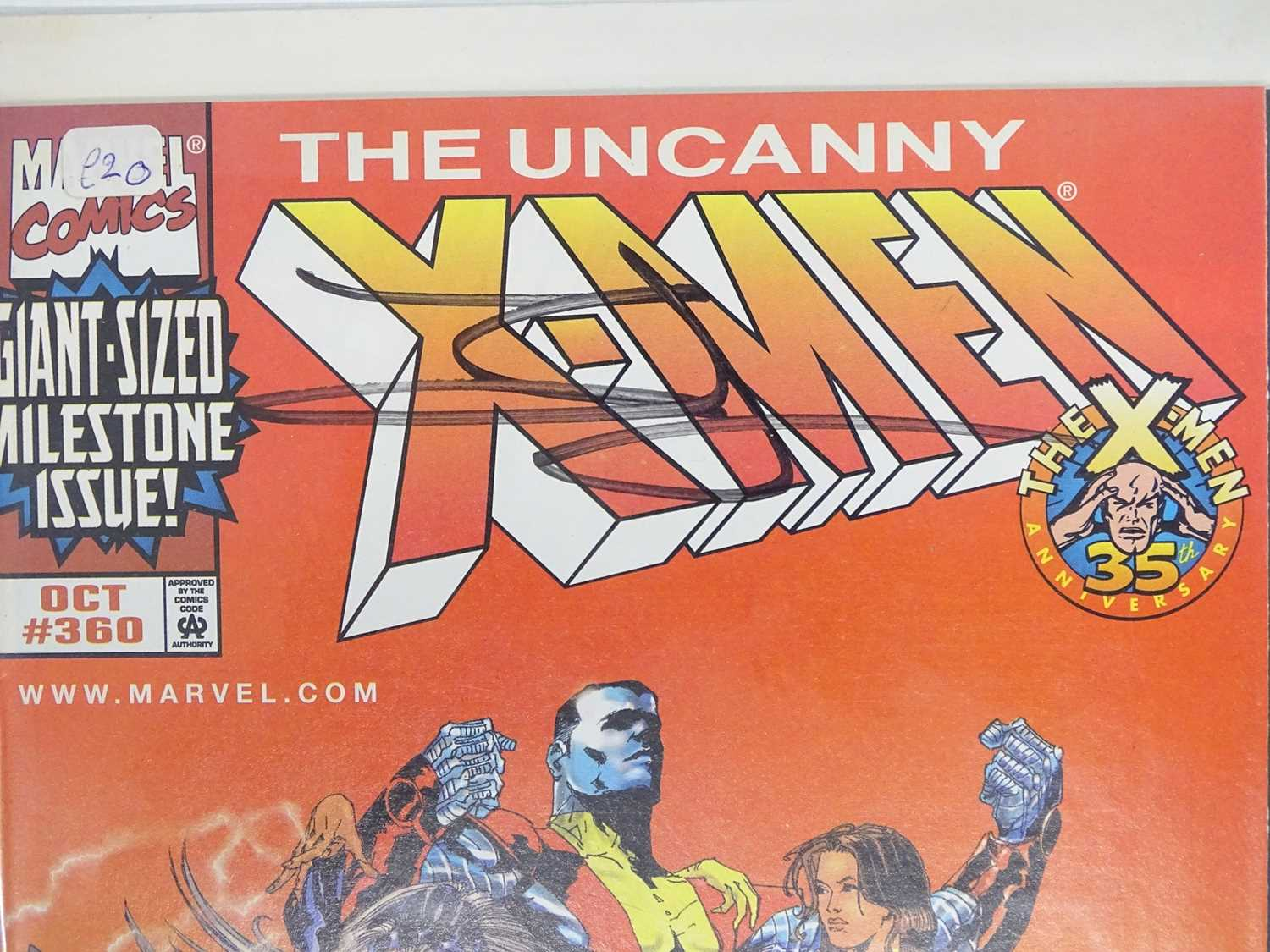 UNCANNY X-MEN #360 - (MARVEL - 1998) - Signed to Front Cover by Jae Lee and Numbered #2547/10, - Image 2 of 4