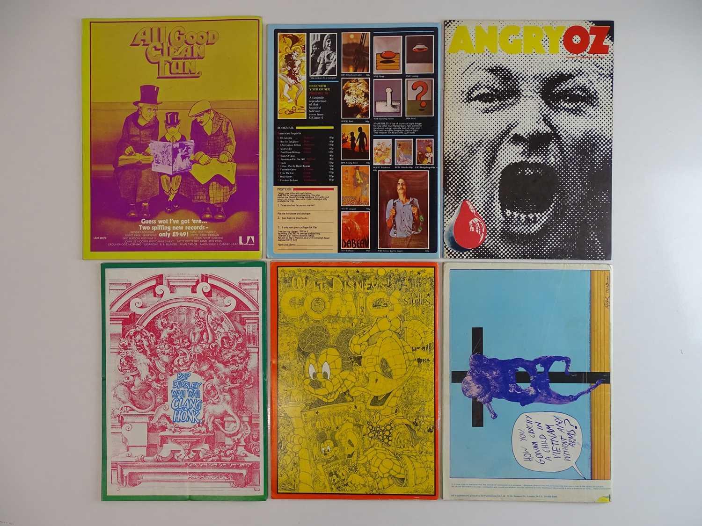 OZ MAGAZINE #35, 36, 37, 38, 40, 42 - (6 in Lot) - (1971/72) Selection of 6 x OZ Magazines - - Image 2 of 2