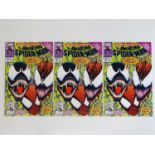 AMAZING SPIDER-MAN #363 - (1992 - MARVEL) - 3 x Issues of #363 - Carnage, Venom, Human Torch
