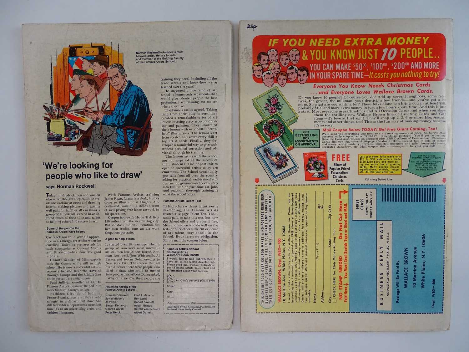 AMAZING SPIDER-MAN: KING-SIZE SPECIAL #6 & 7 - (1968 - MARVEL - UK Cover Price) - King-Size Specials - Image 2 of 2
