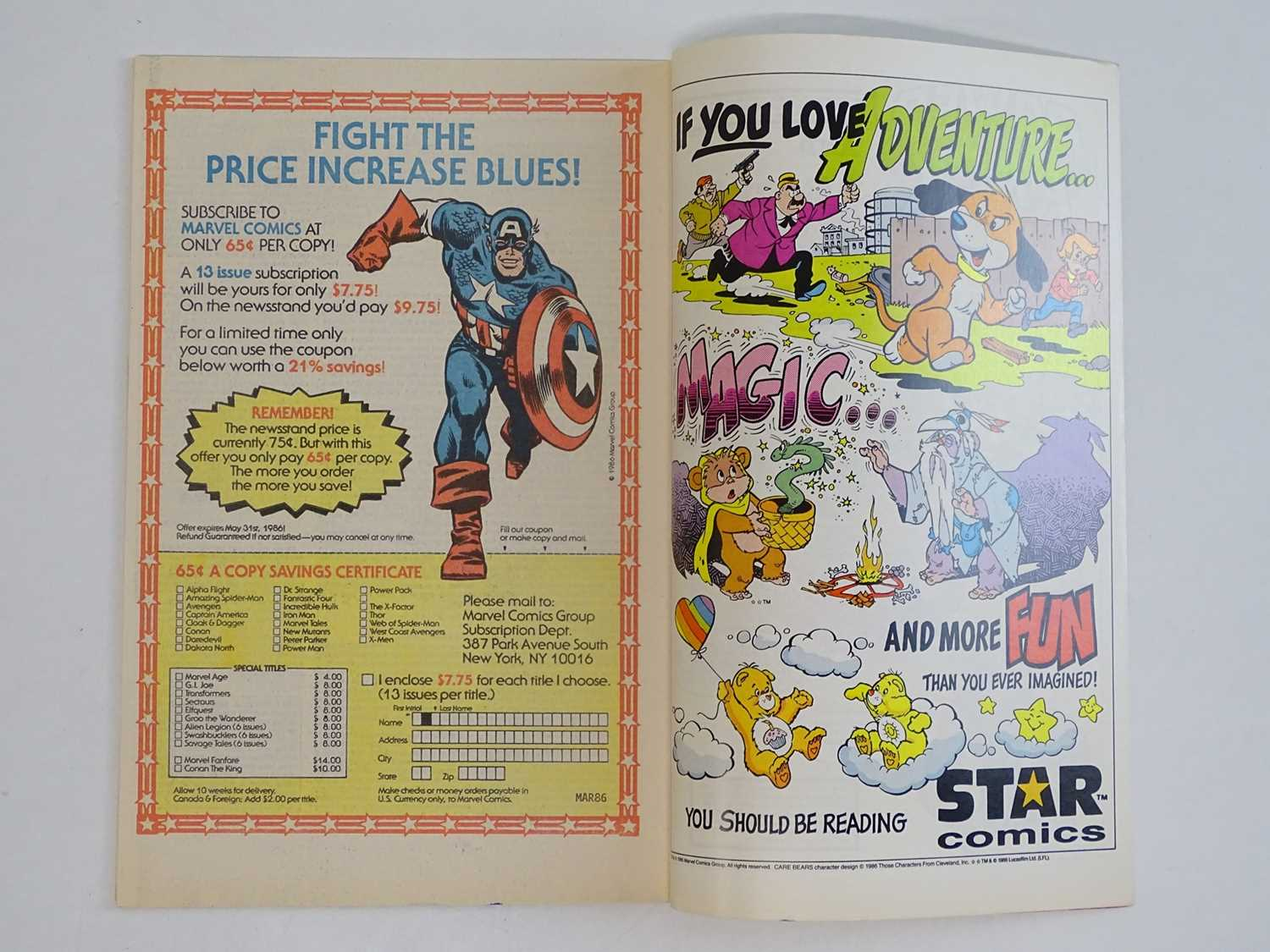 X-FACTOR #6 - (1986 - MARVEL) - Includes First (Full) Appearance of Apocalypse - Flat/Unfolded - a - Image 4 of 9