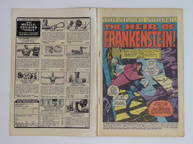 SILVER SURFER #7 - (1969 - MARVEL - UK Cover Price) Early appearance of Marvel's Frankenstein - Image 3 of 8