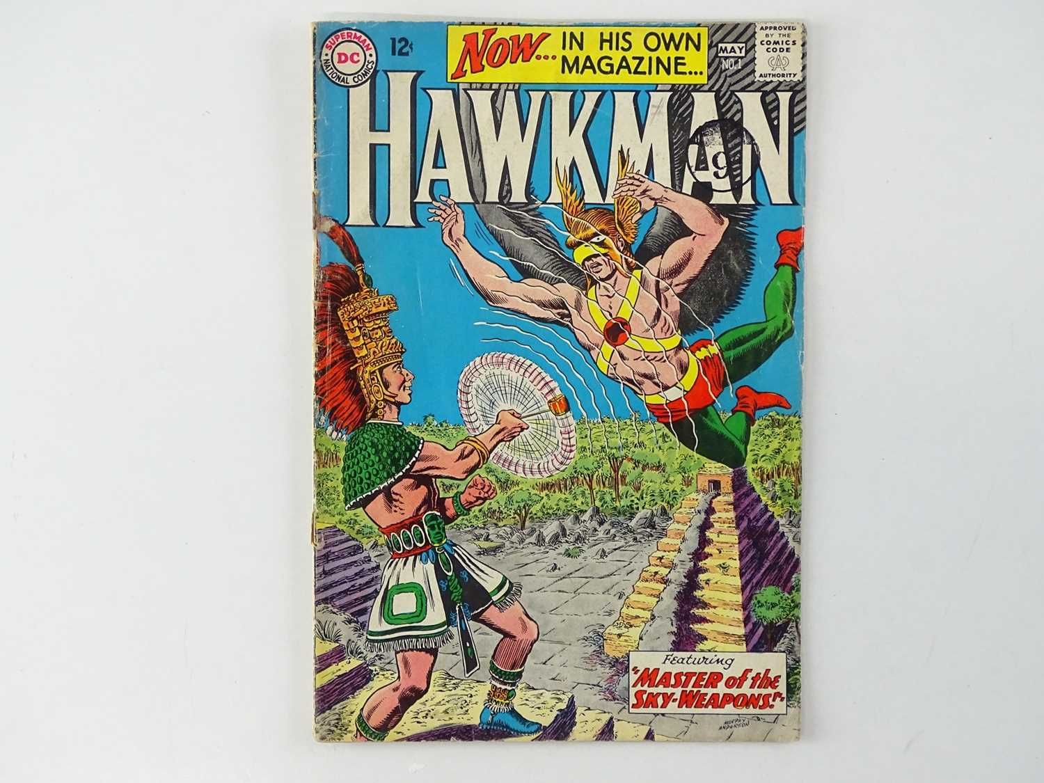 """HAWKMAN #1 - (DC - UK Cover Price) - First solo title for Hawkman gets after appearances in """"Brave"""