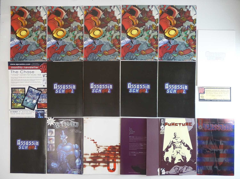 ASSASSINS SCHOOL, ISSUE ZERO, CODENAME: BABETOOL, CLASS WAR, PUNCTURE LOT - (17 in Lot) - (2000/02 - - Image 2 of 6