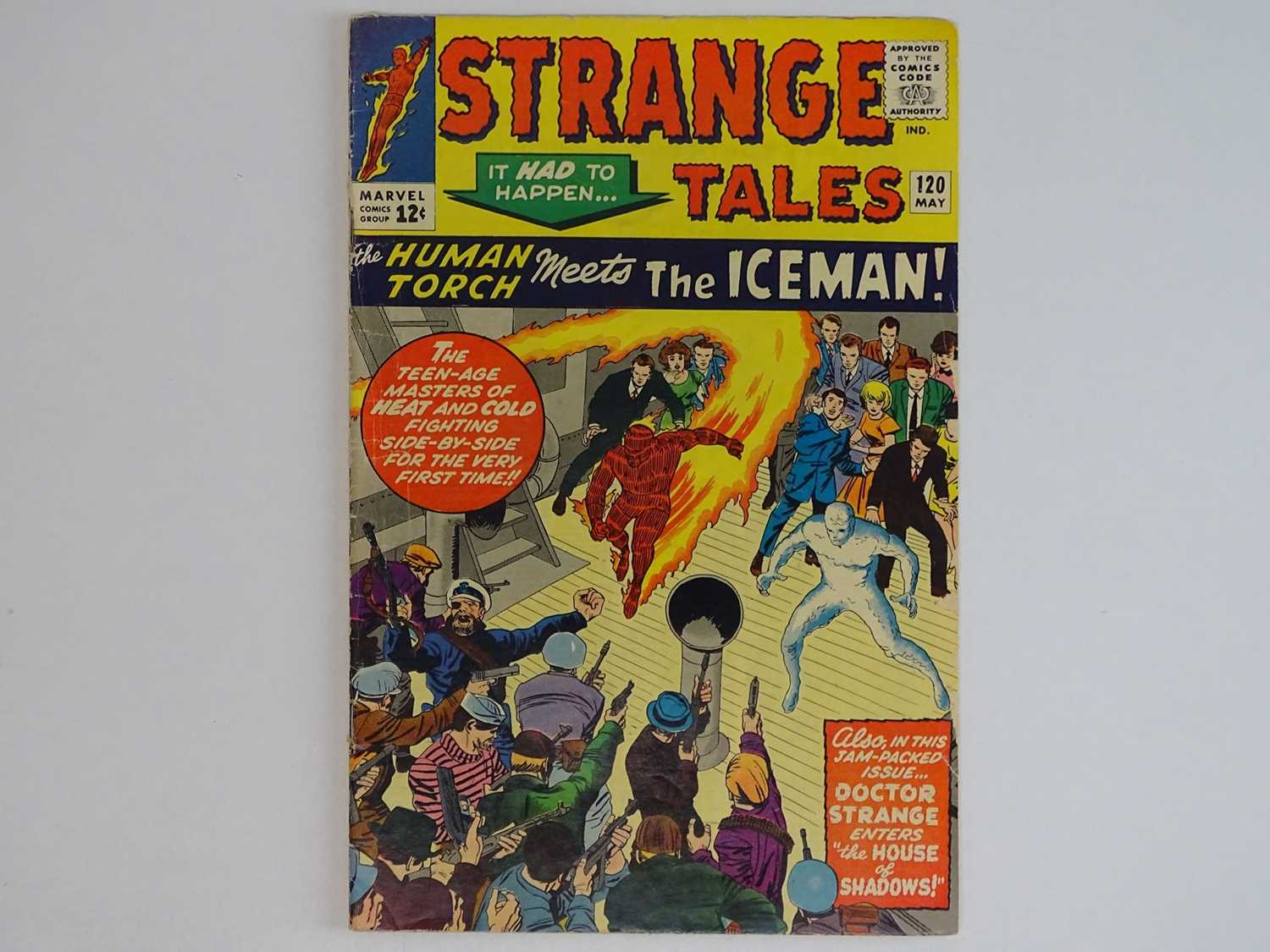 STRANGE TALES: HUMAN TORCH & DR. STRANGE#120 - (1964 - MARVEL) Includes First meeting between