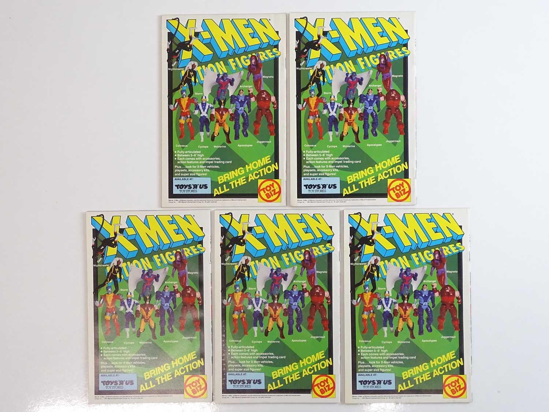 X-MEN #1 - (5 in Lot) - (1991 - MARVEL) - Magneto cover - Jim Lee cover & interior art - Flat/ - Image 2 of 2