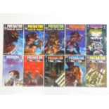 PREDATOR LOT (10 in Lot) - (DARK HORSE) - ALL First Printings & Complete Limited Series' -