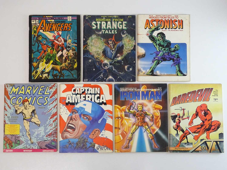 MARVEL COMICS INDEX LOT - (7 in Lot) - (1976/82 - MARVEL) - Includes #3 - AVENGERS + #6 - STRANGE