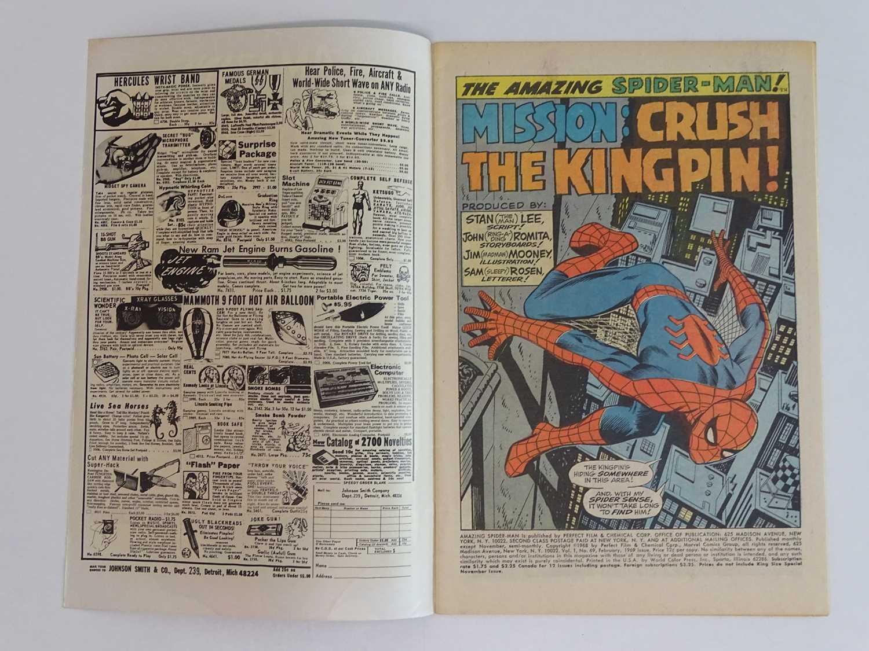 AMAZING SPIDER-MAN # 69 (1969 - MARVEL) - Kingpin appearance cover & story - John Romita Sr. cover - Image 3 of 9
