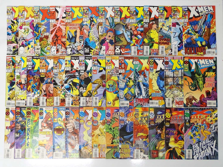 X-MEN: ADVENTURES LOT - (41 in Lot) - (MARVEL) - Includes X-MEN: ADVENTURES (1992/94) #1, 2, 3, 4,