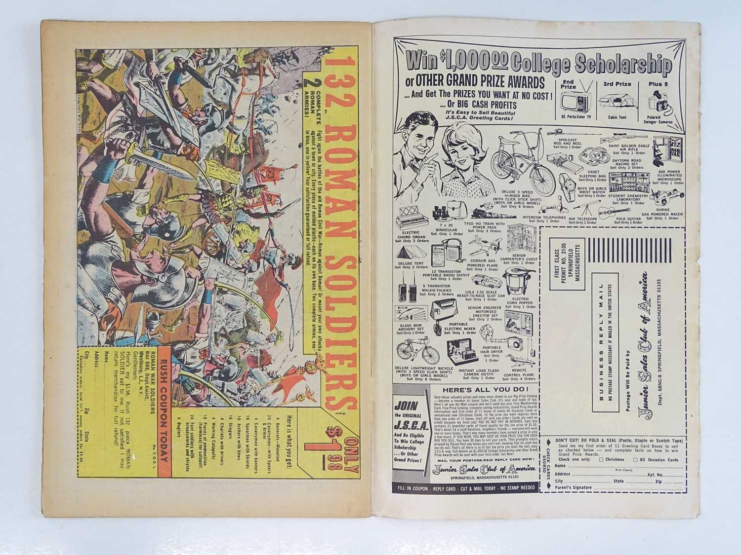 CAPTAIN ACTION #1 - (1968 - DC - UK Cover Price) - Origin and First DC comic book appearance of - Image 4 of 9