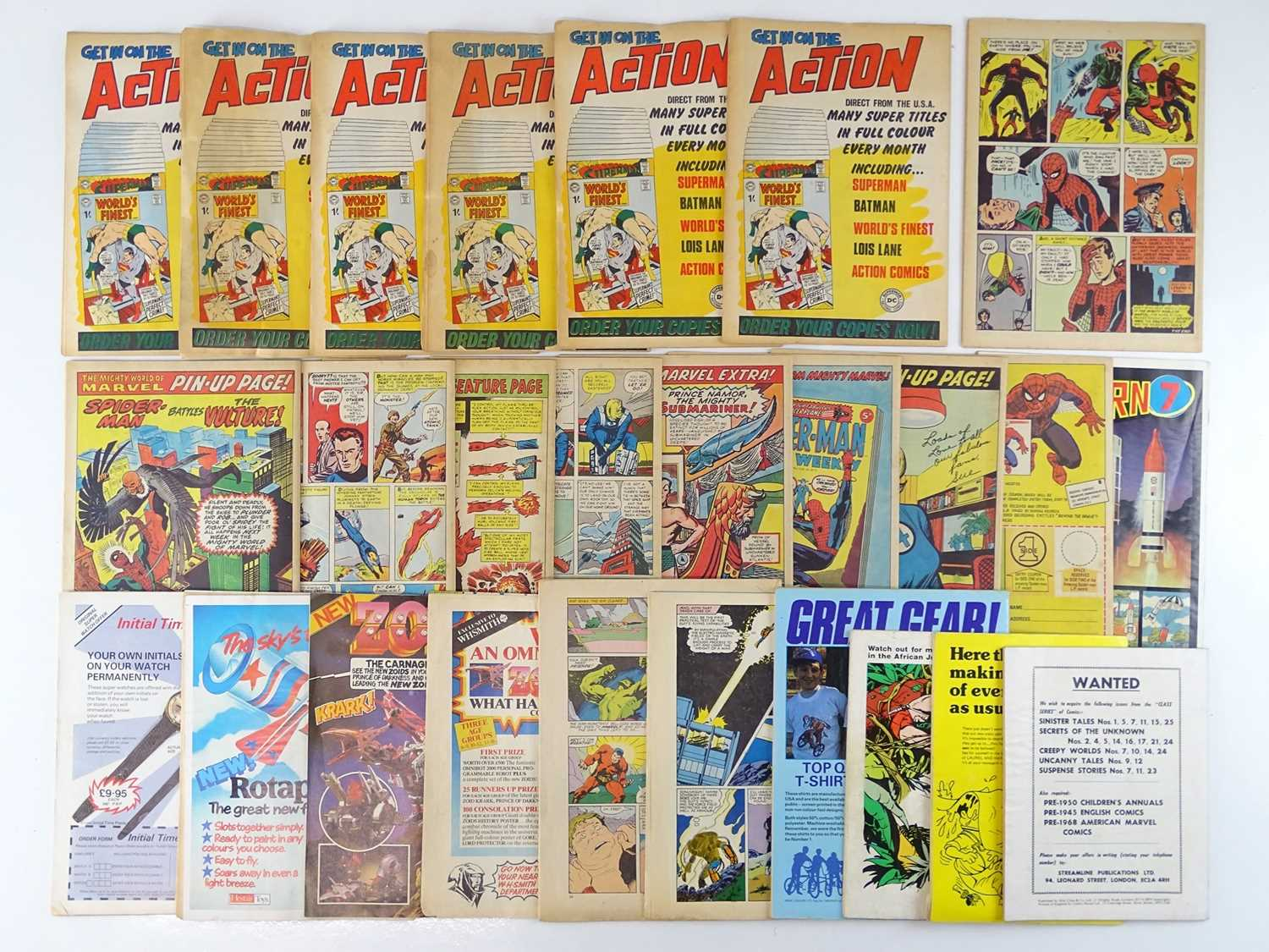 MIXED LOT OF BRITISH MARVEL, DC & OTHER COMICS - (26 in Lot) - (UK Price) - Includes BEST OF DC - Image 2 of 2