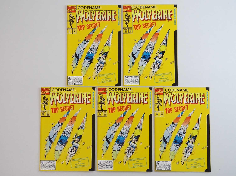 WOLVERINE #50 - (5 in Lot) - (1991 - MARVEL) - Wolverine's origin retold in more detail +
