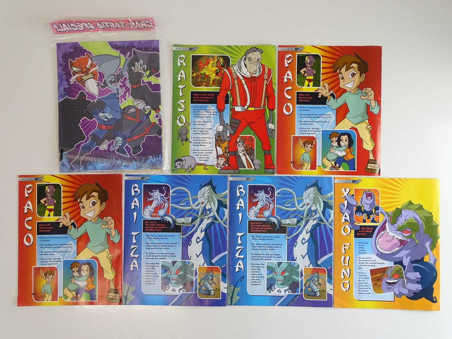 JACKIE CHAN ADVENTURES #16, 17 (x 2), 18 (x 2), 10 & CHANTASTIC SPECIAL - (7 in Lot) - (2003/06 - - Image 2 of 2