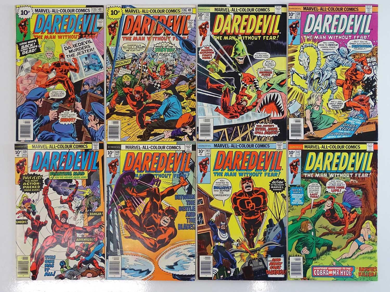 DAREDEVIL #135, 136, 137, 138, 139, 140, 141, 142 - (8 in Lot) - (1976/77 - MARVEL - UK Price