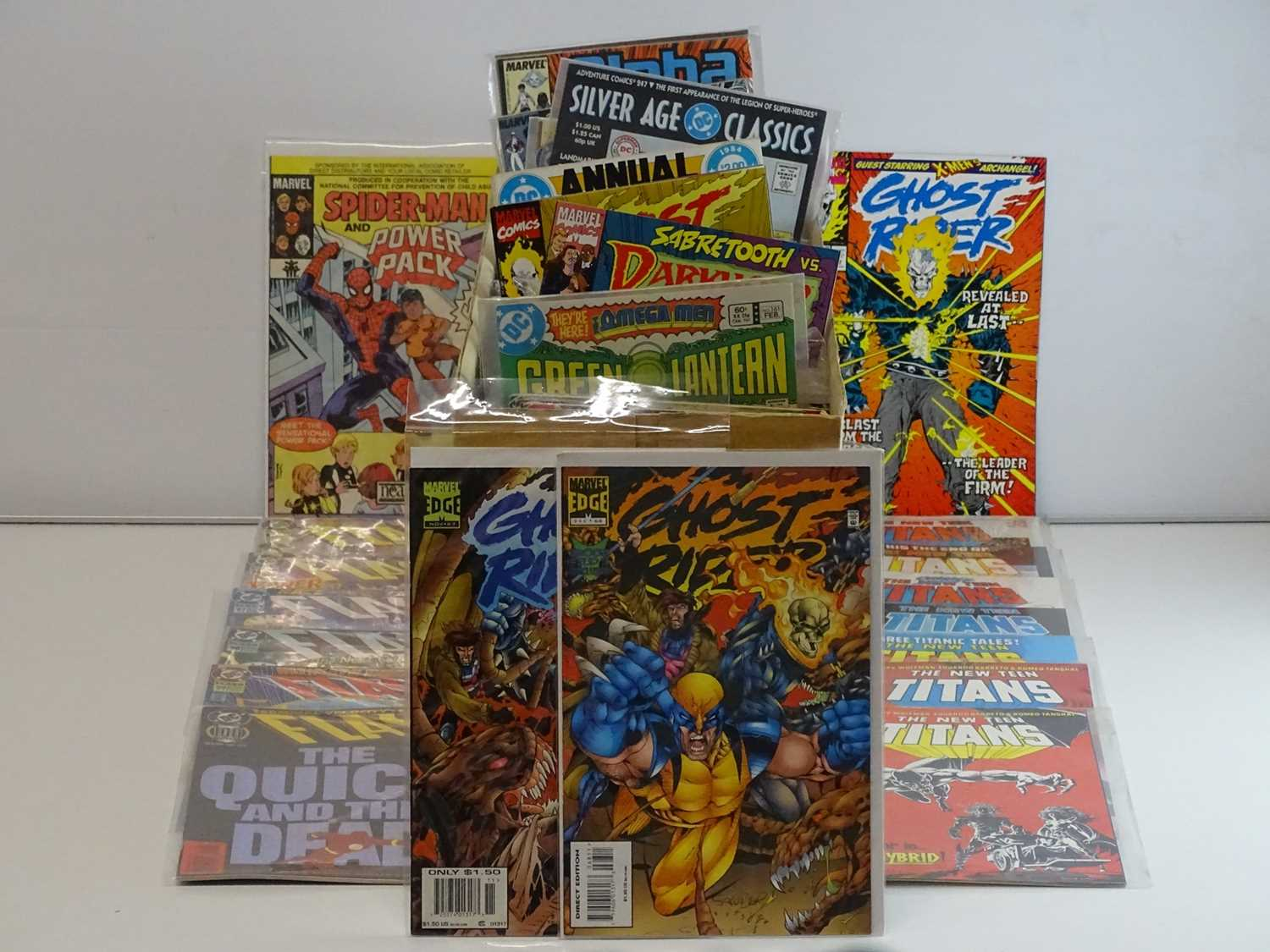 EXCALIBUR LUCKY DIP JOB LOT 300+ COMICS - Includes MARVEL, DC, INNOVATION, FLEETWAY, COMICO & Others