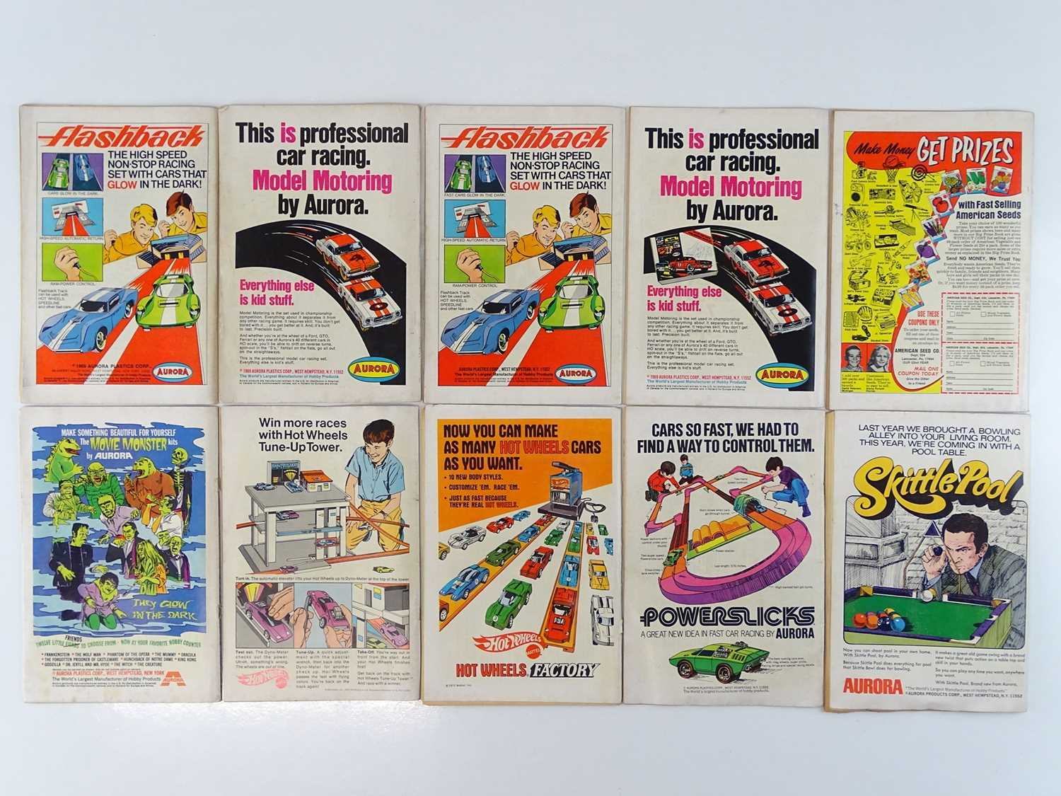 SUPERMAN #221, 222, 223, 224, 225, 226, 228, 229, 230, 232 - (10 in Lot) - (1969/70 - DC - UK - Image 2 of 2